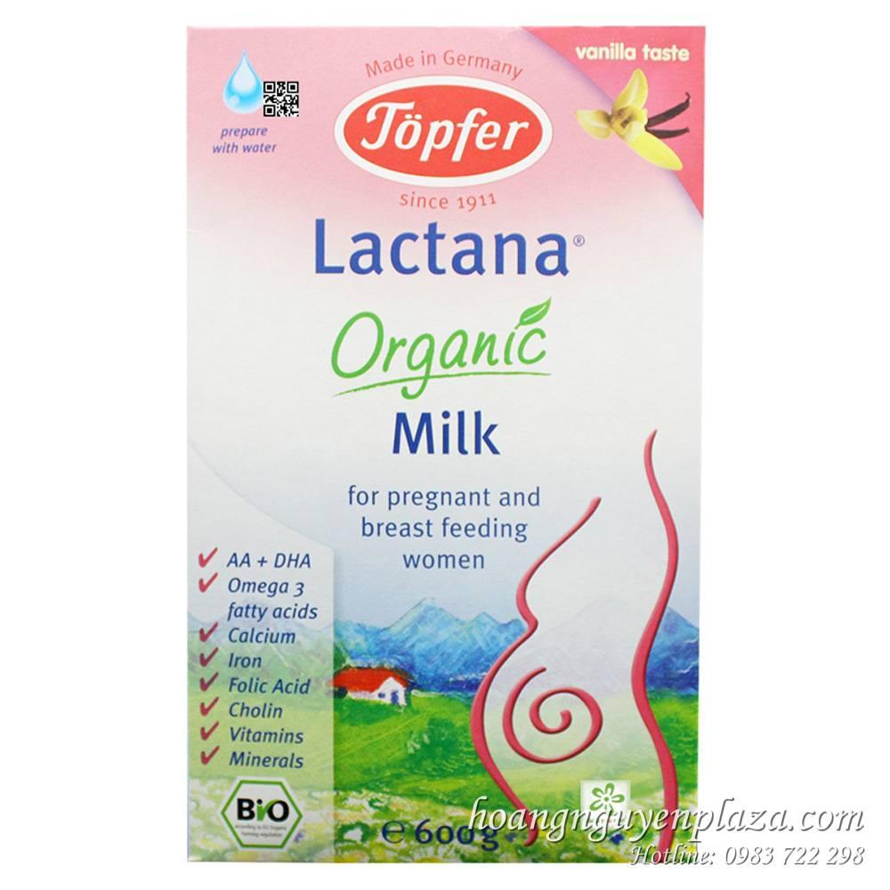 Sữa Topfer Lactana Mama 600g