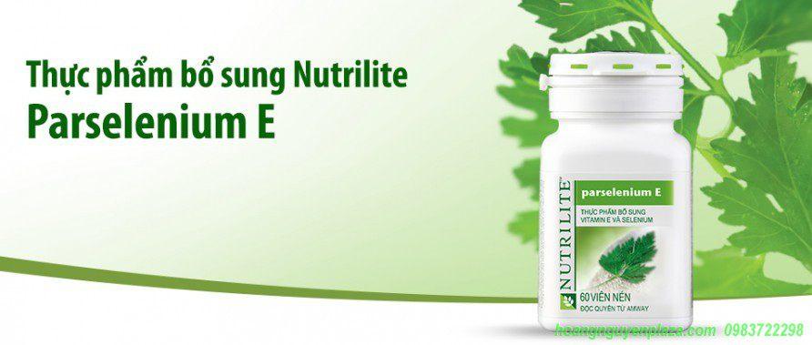 Vitamn E Parselenium Nutrilite Amway
