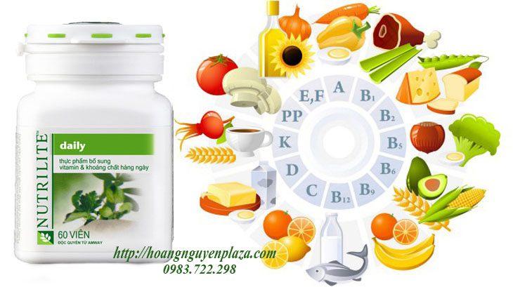 Thực phẩm bổ sung vitamin và khoáng chất hàng Ngày Nutrilite Amway
