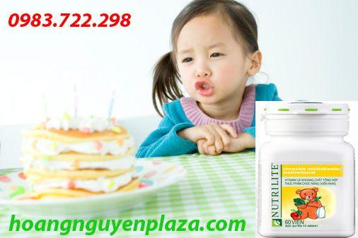 Vitamin và khoáng chất tổng hợp Nutrilite Amway (viên gấu amway)