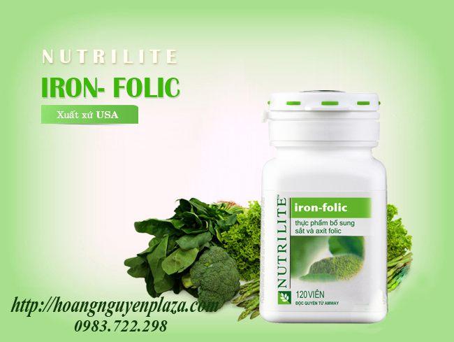 Thực phẩm bổ sung Sắt và Axít Folic Nutrilite Amway