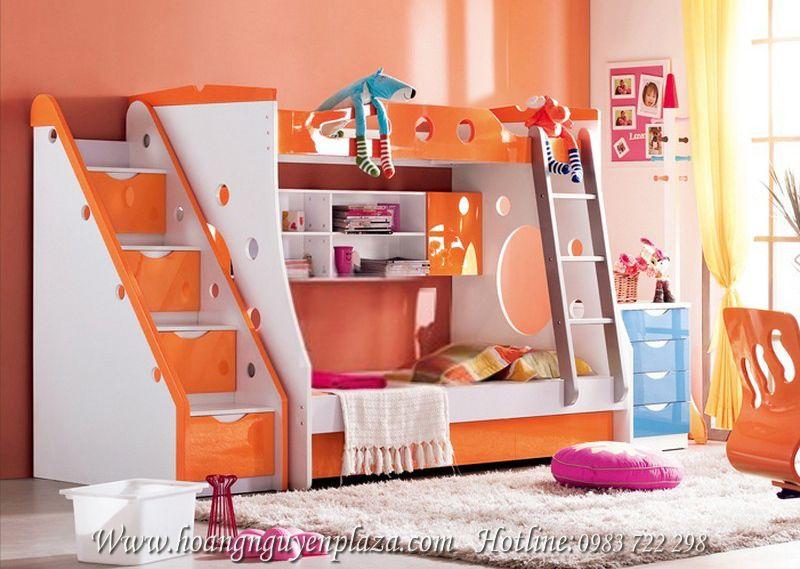 Giường 3 tầng màu cam ấm áp H629 -giuong-ngu-mau-cam-H629 (2)_compressed