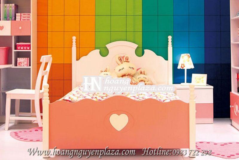 Giường ngủ trái tim cho bé 1m5 N604 giuong-ngu-1m5-99A15_compressed