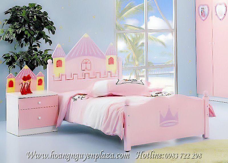 Giường lâu đài công chúa N616---giuong-cong-chua-W027_compressed