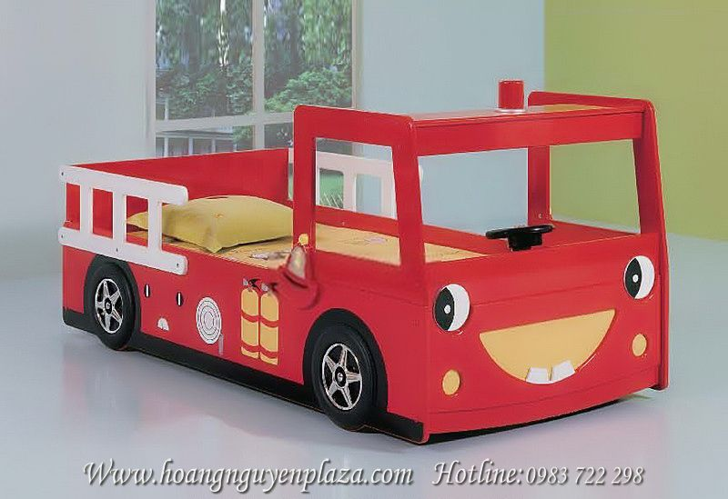 Giường xe cứu hỏa màu đỏ N624 giuong-xe-cuu-hoa-A355_compressed