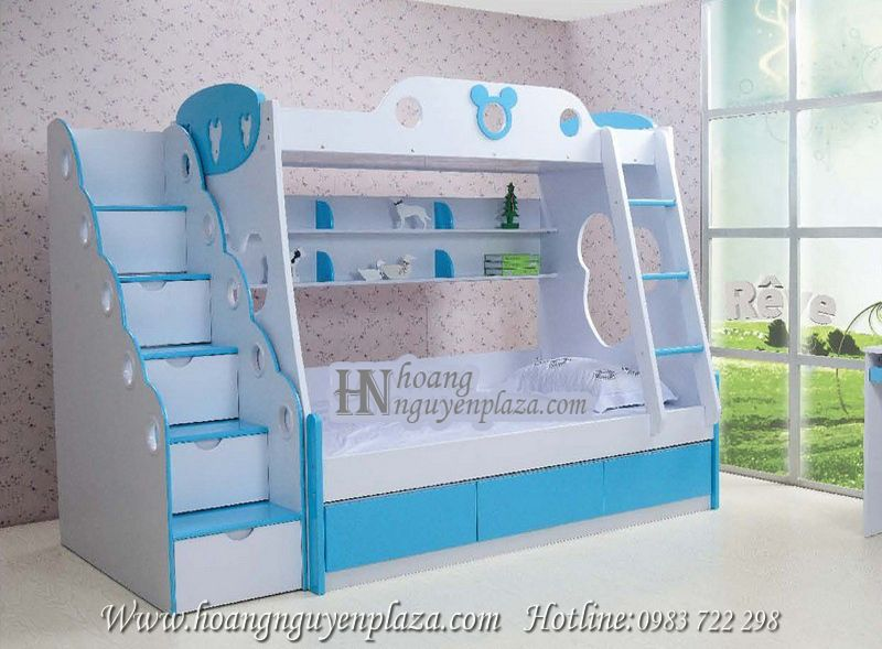 Giường tầng bầu trời xanh N636 -K2029B_compressed