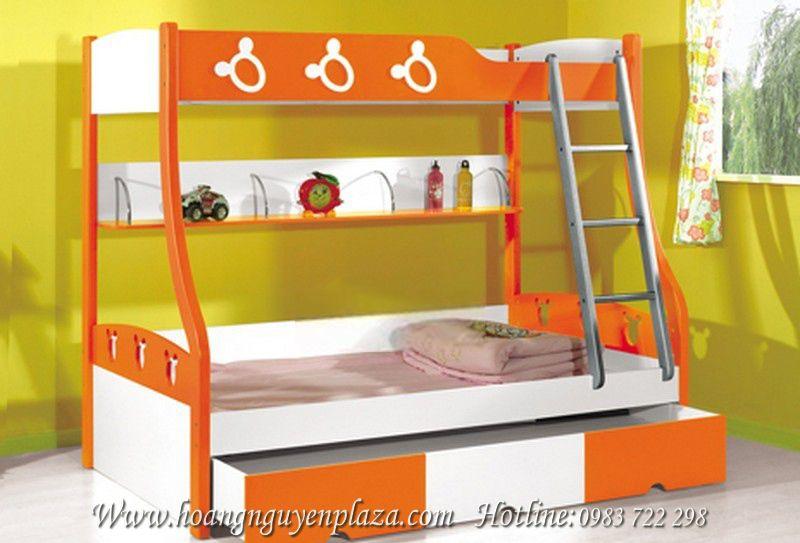 Giường ngủ chuột Mickey cho bé yêu N637-giuong-ngu-mickey-KH16068A_compressed
