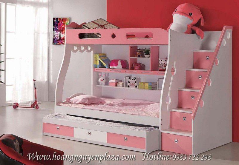 Giường tầng màu hồng pastel N638-Giuong-ngu-mau-hong-88033P_compressed