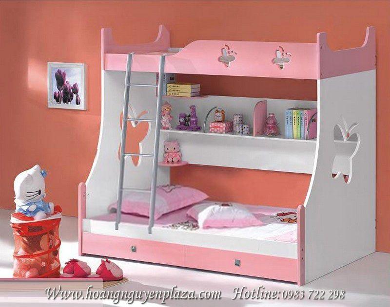Giường 3 tầng màu hồng N647 giuong-3-tang-KH9815B_compressed