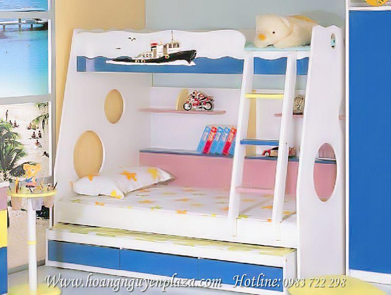 Giường 3 tầng cho bé yêu N649 Giuong-3-tang-KH0139_compressed