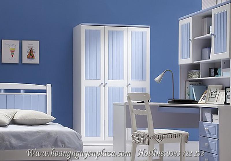 Tủ áo trắng xanh N92E3 Tu-ao-trang-xanh-92E3_compressed
