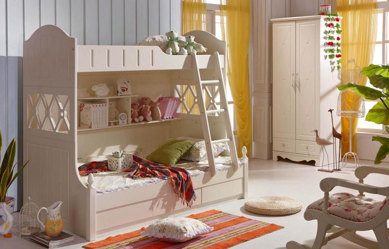 Bộ giường tầng cho bé yêu