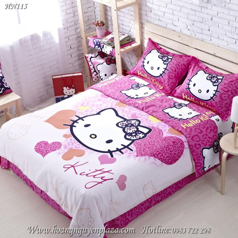 Chăn ga gối Hello Kitty HN115