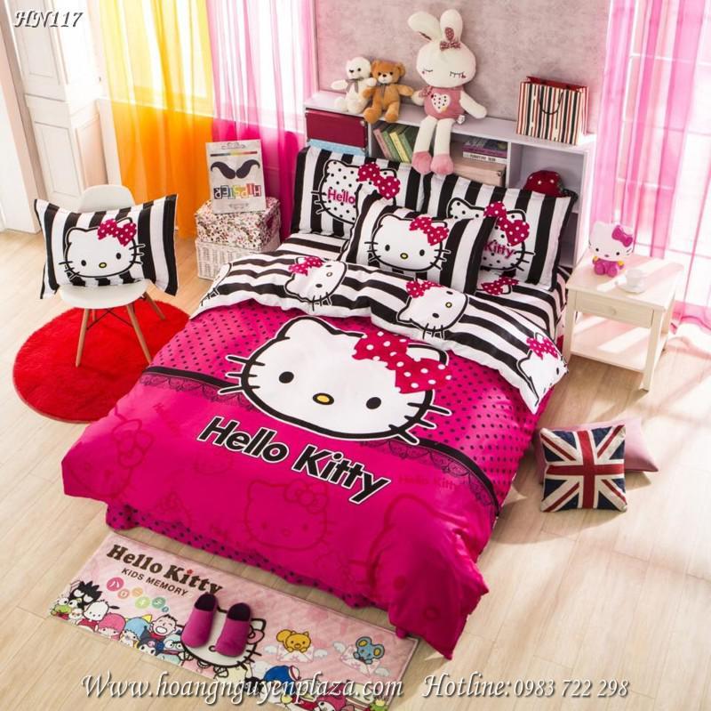 Chăn ga gối Hello Kitty HN117