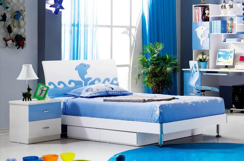 Phòng ngủ cá heo đại dương