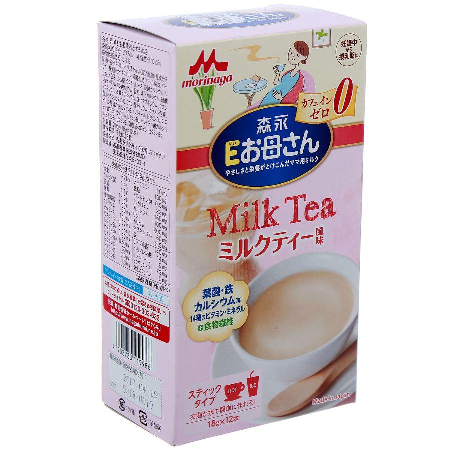 sữa bà bầu Morinaga Nhật vị trà sữa