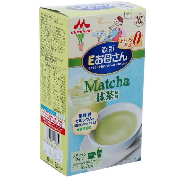 sữa bà bầu Morinaga Nhật vị trà xanh