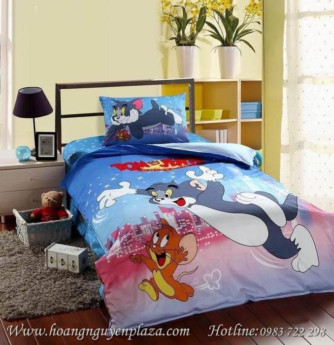 Chăn Ga Gối Hoạt Hình Tom Và Jerry A176