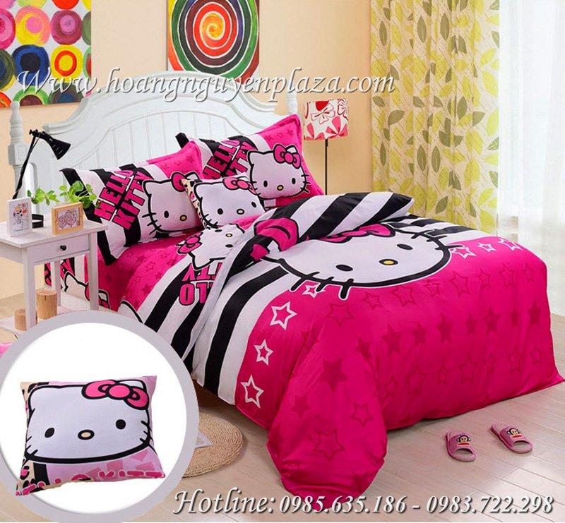 Chăn ga gối Hello Kitty HN171