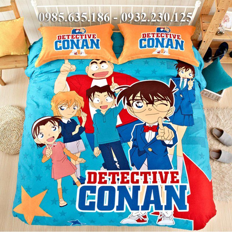 Chăn ga gối thám tử Conan