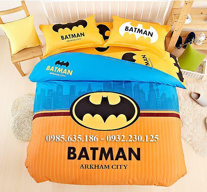 Chăn Ga Gối Hình Người Dơi Batman A217
