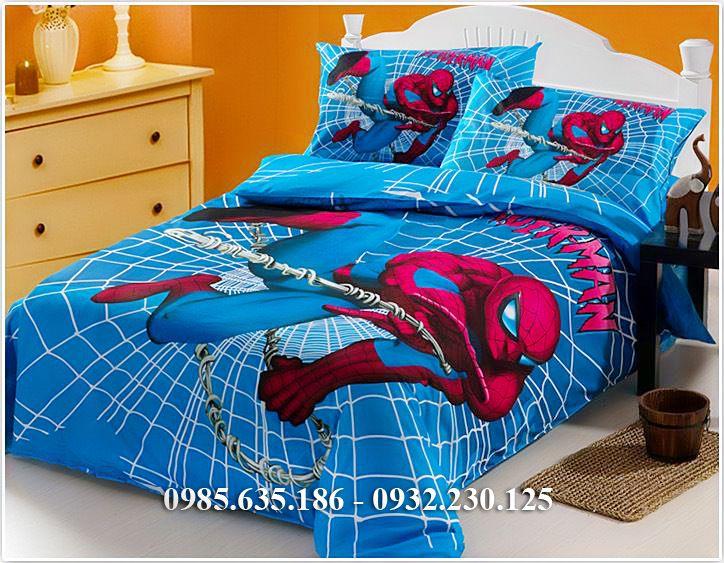 Chăn Ga Gối Đẹp Hình Người Nhện Spider Man A206