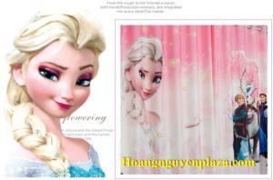 Rèm cửa hình nữ hoàng băng giá Elsa 2