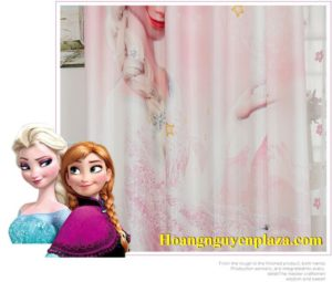 Rèm cửa hình nữ hoàng băng giá Elsa 5