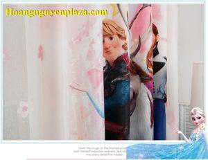 Rèm cửa hình nữ hoàng băng giá Elsa 6