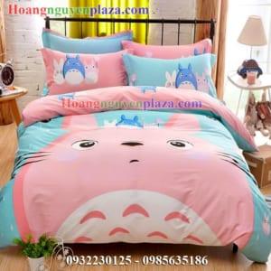 Chăn ga gối hình Totoro cho trẻ em