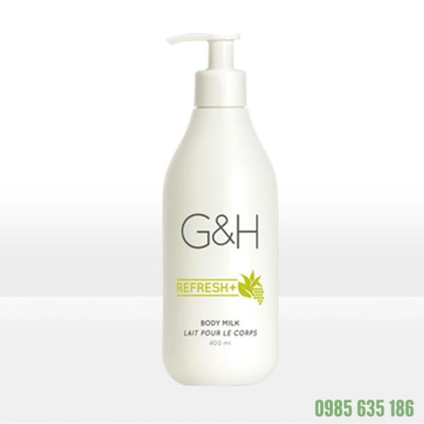 Sữa dưỡng thể Amway G-H Refresh+ (400ml)