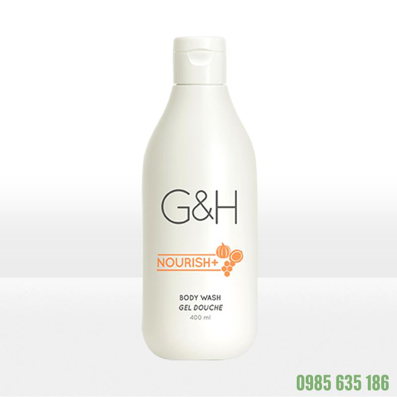 Sữa tắm Amway G-H dưỡng ẩm dạng kem Nourish+ (400ml)