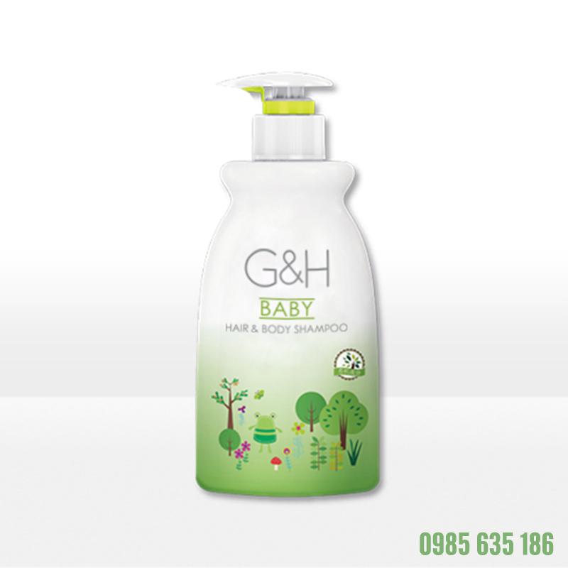 Sữa tắm gội em bé Amway G-H (400ml)