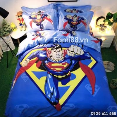 Chăn ga gối đệm siêu nhân Superman