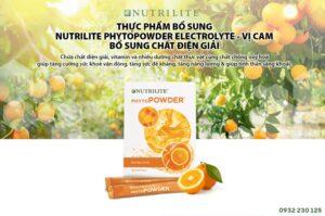 Bộ tăng sức đề kháng vị cam Nutrilite Phytopowder