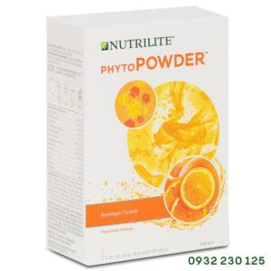 Bột tăng sức đề kháng vị cam Nutrilite Phytopowder Amway Hoa Kỳ