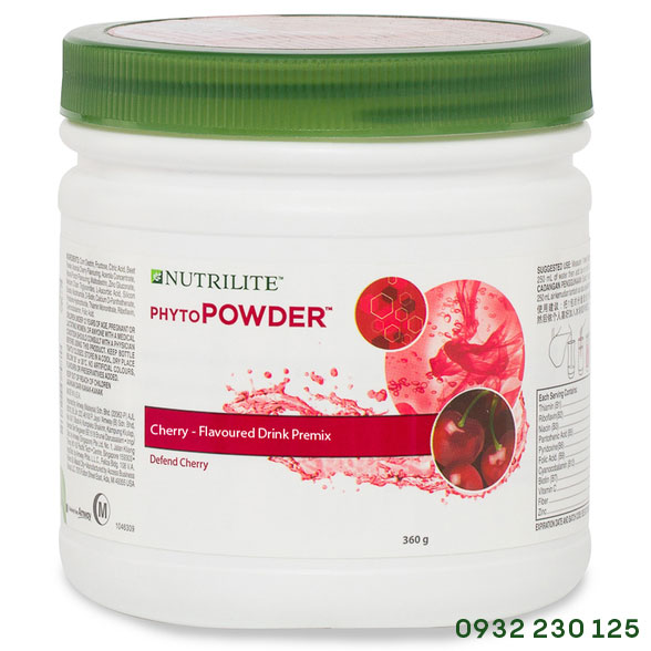 Bột bổ sung chất điện giải vitamin PhytoPowder vị Cherry