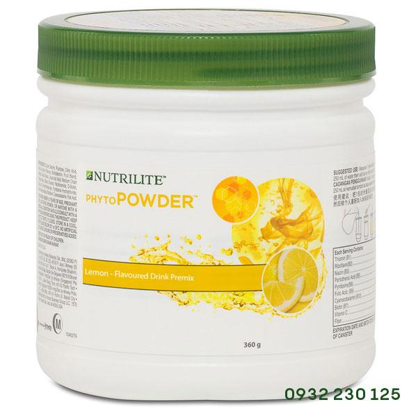 Bột bổ sung vitamin khoáng chất Phytopowder Vị Chanh Nutrilite Amway