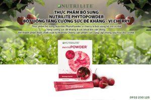 Bột Uống Tăng Cường Sức Đề Kháng Vị Cherry Nutrilite Phytopowder