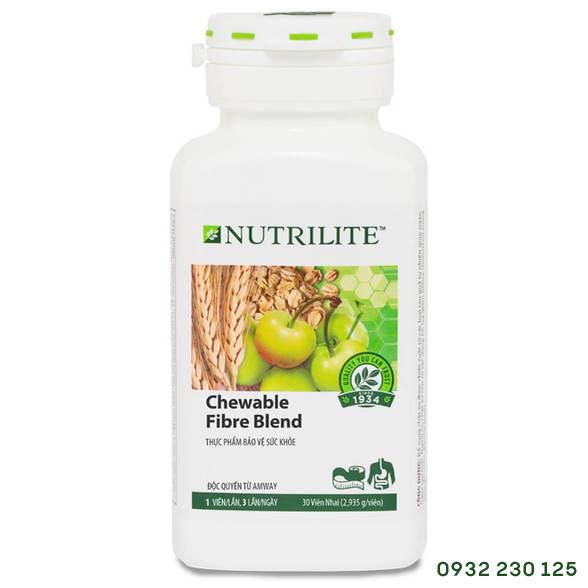 Chất xơ từ rau quả Nutrilite Chewable Fibre Blend