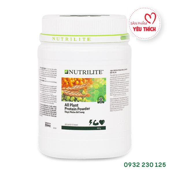 Nutrilite Protein Thực Vật - Nutrilite All Plant Protein Powder Amway