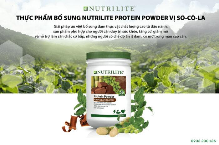 Nutrilite Protein thực vật vị socola Amway