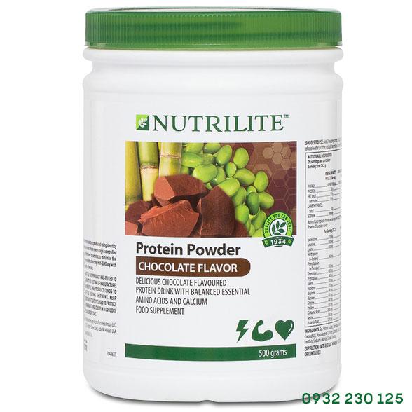 Nutrilite Protein thực vật vị socola Amway xuất xứ Hoa Kỳ