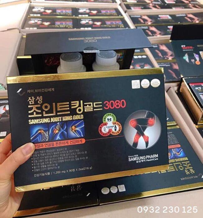 Thuốc bổ xương khớp Samsung Joint King Gold 3080