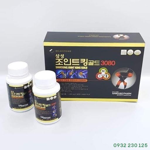 Thuốc bổ xương khớp Samsung Joint King Gold 3080 180 viên