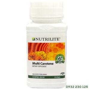 Viên bổ mắt Nutrilite Multi Carotene chống oxy hóa tốt cho thị lực