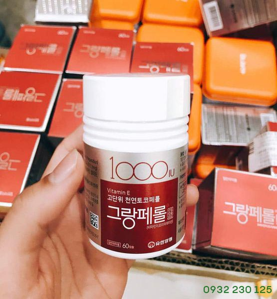 Vitamin E Hàn Quốc 1000IU