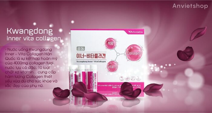 Nước Uống Collagen Hàn Quốc Kwangdong Inner – Vita 30 ống 20ml